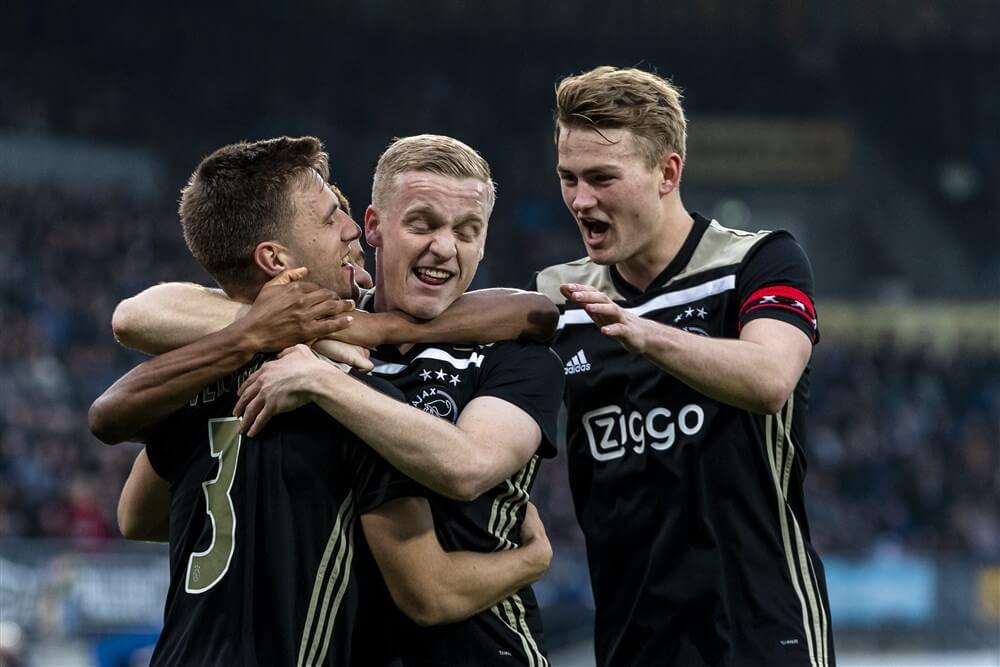 Ajax ook veel te sterk voor Willem II; image source: Pro Shots