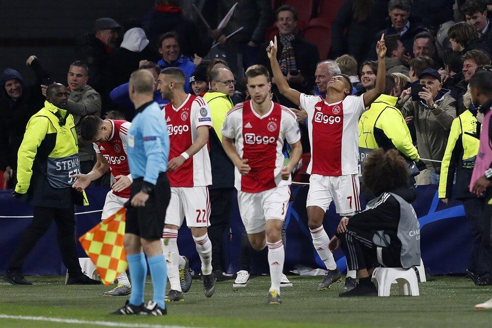 Ajax gelijk tegen Juventus na uitstekende wedstrijd; image source: Pro Shots