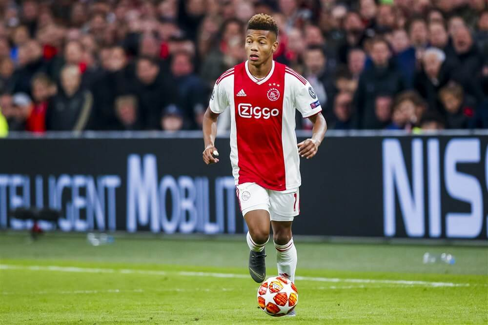 """""""David Neres verlengt contract bij Ajax""""; image source: Pro Shots"""