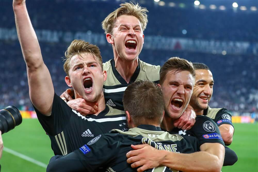 Frenkie de Jong beste middenvelder in Champions League van afgelopen seizoen; image source: Pro Shots