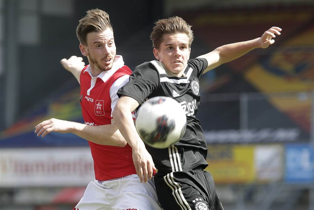 Jong Ajax in slotfase onderuit in Maastricht; image source: Pro Shots