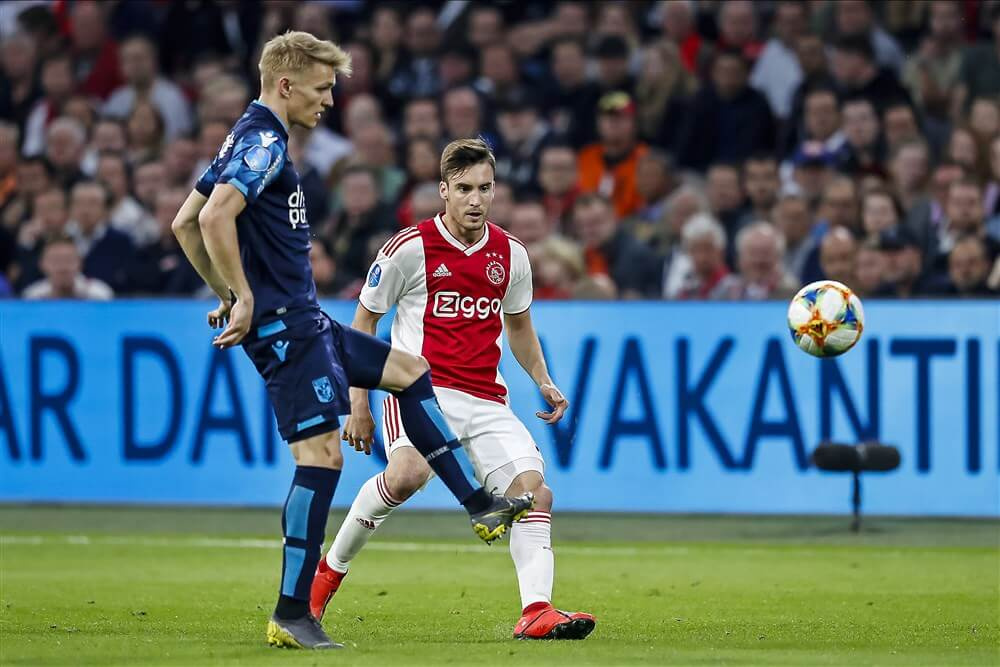 "Mike Verweij: ""Martin Ødegaard is weer in beeld bij Ajax""; image source: Pro Shots"