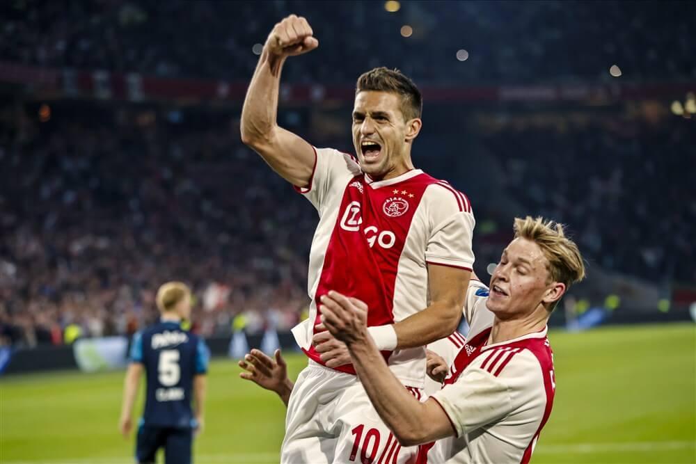 Ajax maakt het zichzelf nog onnodig lastig, maar zet weer grote stap richting landstitel; image source: Pro Shots