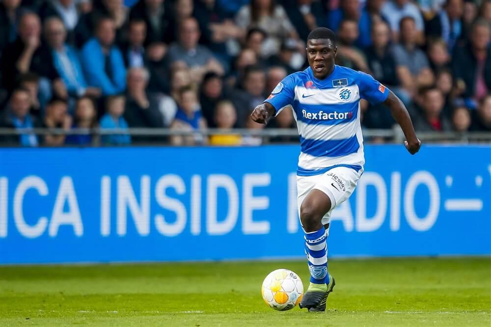"""Azor Matusiwa keert niet terug bij Ajax: """"Ze hebben helaas voor mij een andere keuze gemaakt""""; image source: Pro Shots"""