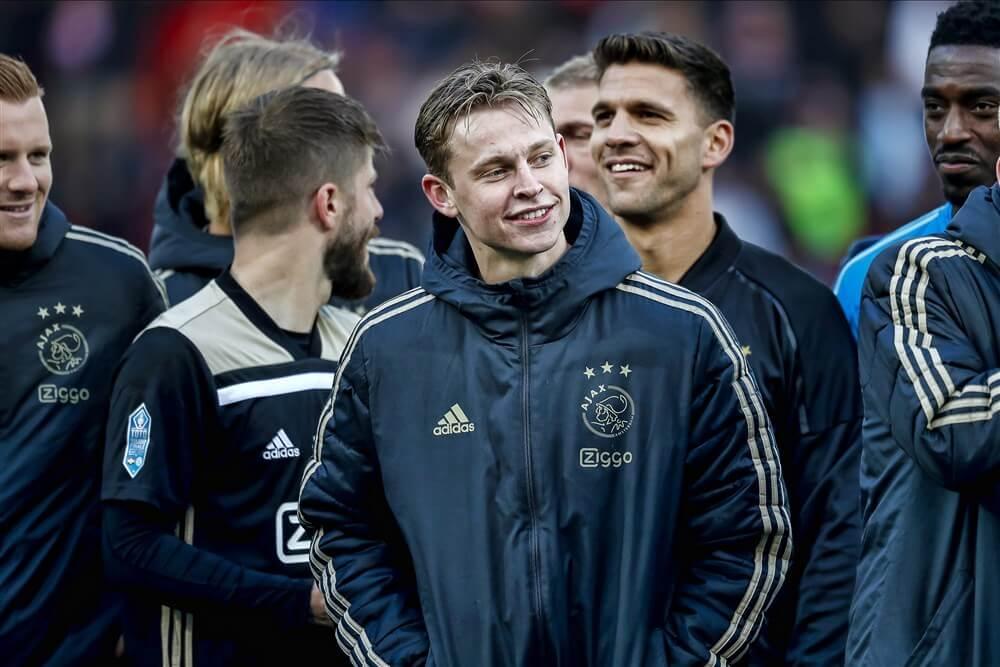 Frenkie de Jong verkozen tot beste speler Eredivisie; image source: Pro Shots