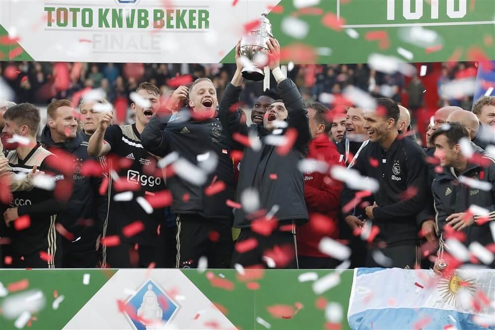 """Jeroen Slop: """"Wij hebben het verschil voor de Ajax-fans in de bekerfinale betaald""""; image source: Pro Shots"""