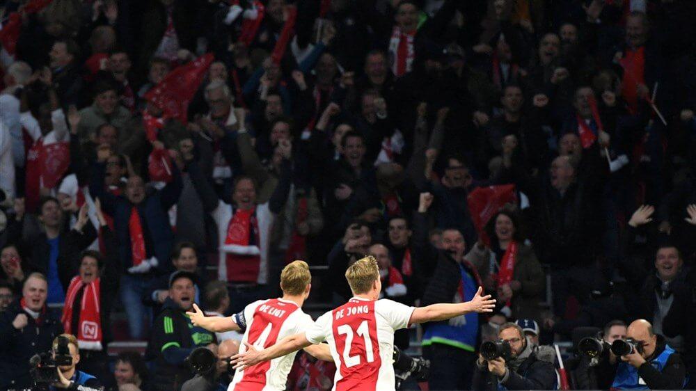 Ajax mag nog hopen op Pot 2 bij bereiken van groepsfase Champions League; image source: Pro Shots