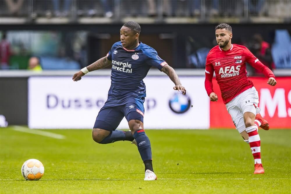 """Mike Verweij: """"Steven Bergwijn ziet Ajax inmiddels als een stap hogerop""""; image source: Pro Shots"""