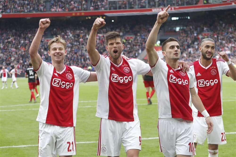 """Klaas Jan Huntelaar: """"Als ik stop met voetballen, dan is dat bij Ajax""""; image source: Pro Shots"""