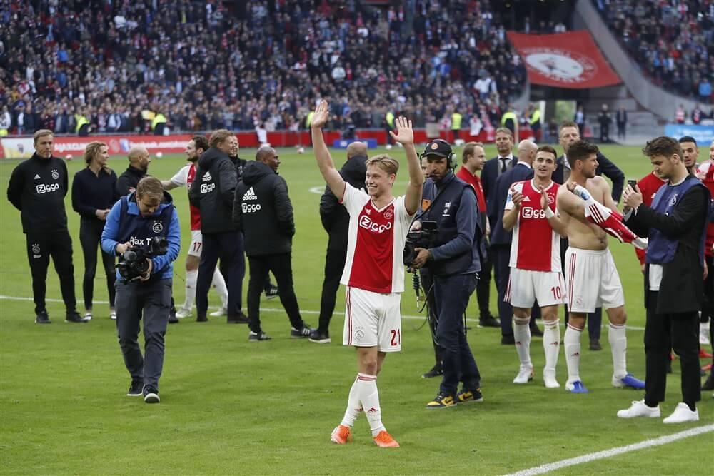 Frenkie de Jong uitgeroepen tot talent van het jaar in Eredivisie; image source: Pro Shots