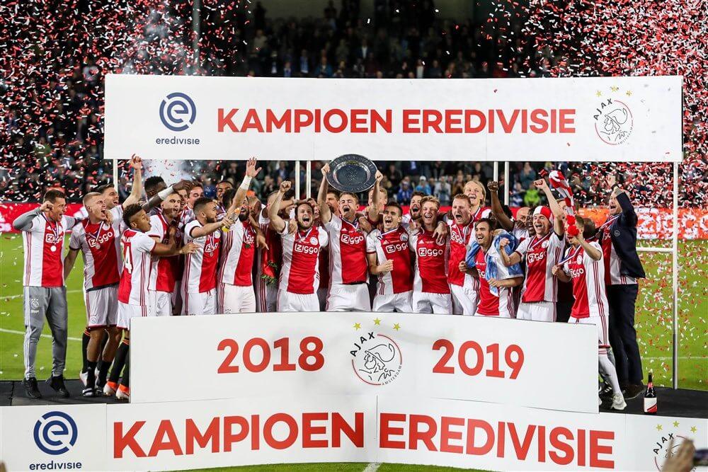 34e landstitel is binnen na ruime zege tegen De Graafschap; image source: Pro Shots