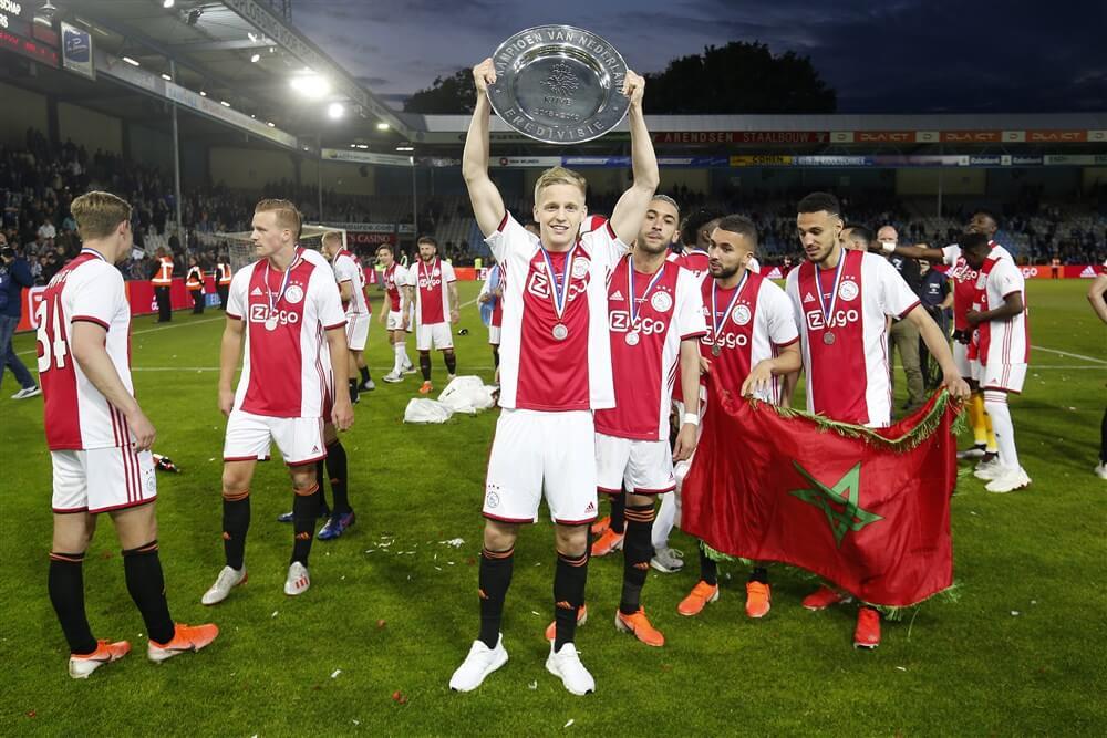 """Donny van de Beek: """"Nog een jaar in Amsterdam zou heel goed kunnen""""; image source: Pro Shots"""