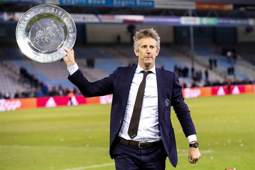 """Edwin van der Sar: """"Op dit moment is Ajax het belangrijkste""""; image source: Pro Shots"""