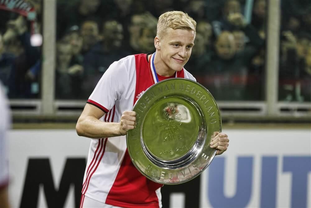 """""""Donny van de Beek bovenaan wensenlijst AS Roma""""; image source: Pro Shots"""