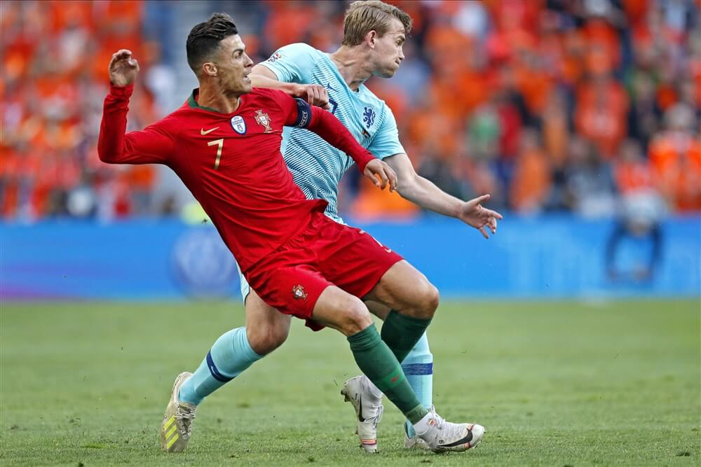 Nederlands elftal in finale Nations League onderuit tegen Portugal; image source: Pro Shots