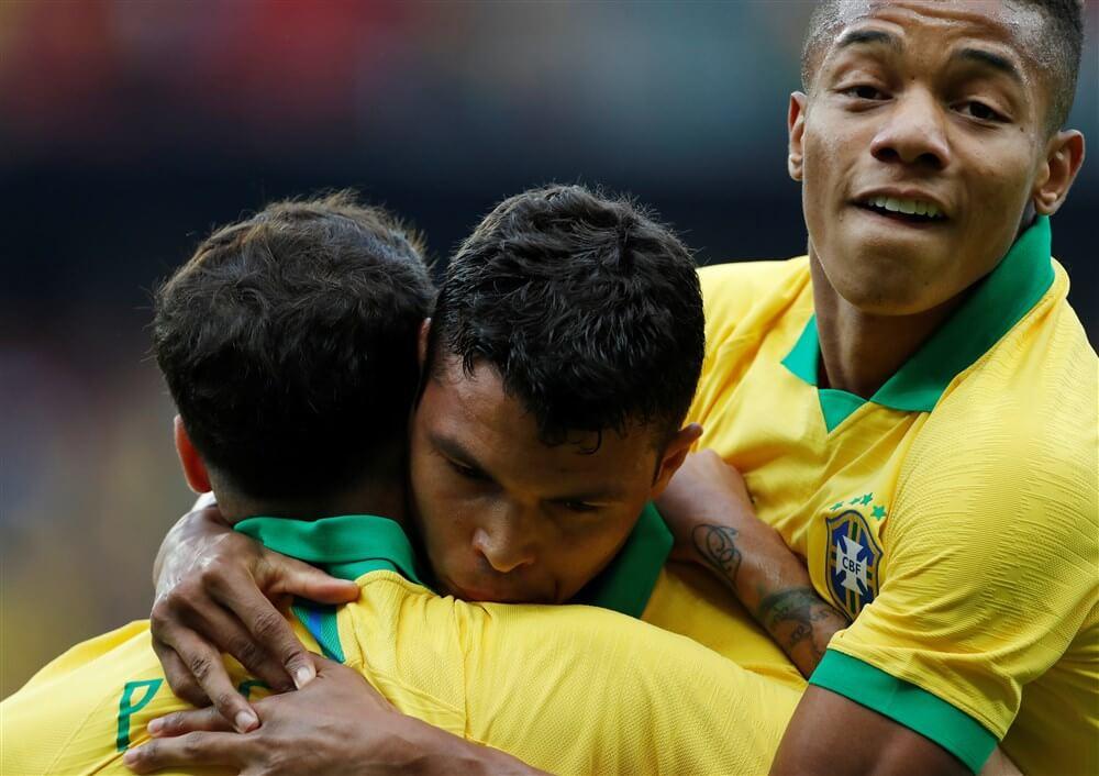 David Neres scoort in basisdebuut voor Brazilië; image source: Pro Shots