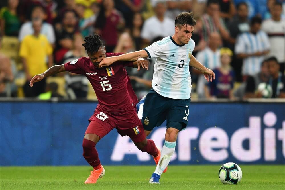 Nicolás Tagliafico wint ruim met Argentinië, opnieuw invalbeurt voor Antony bij Brazilië; image source: Pro Shots