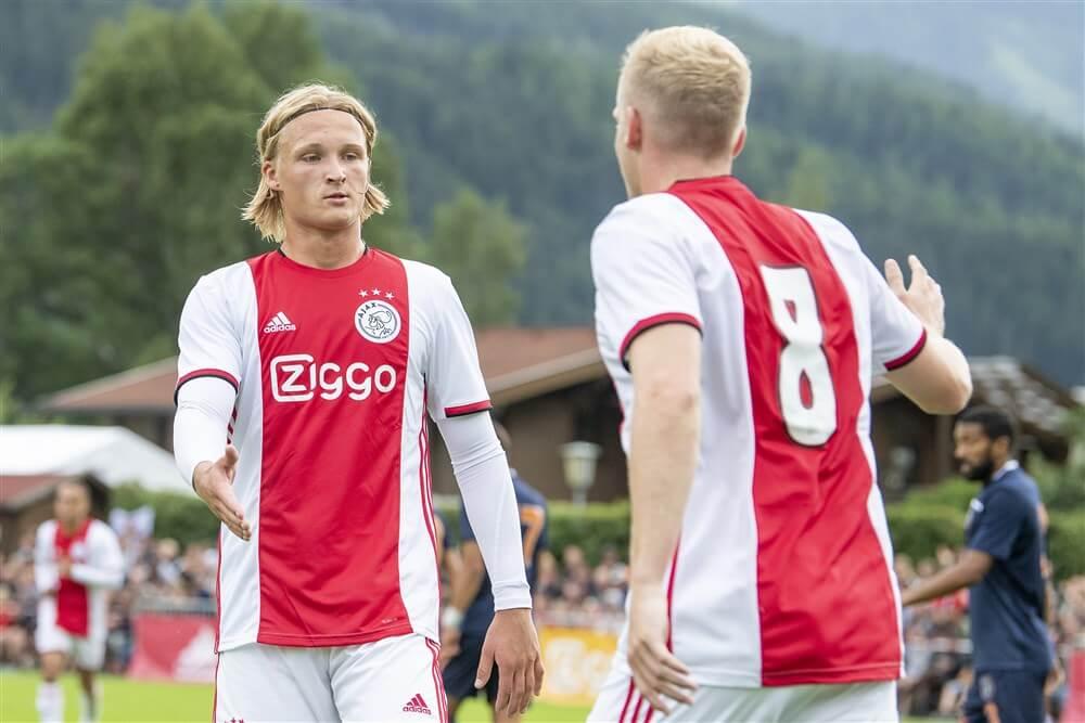"""""""Kasper Dolberg donderdag gepresenteerd bij OGC Nice""""; image source: Pro Shots"""