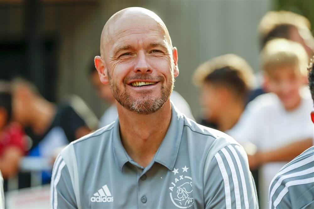 """Erik ten Hag: """"Uiteindelijk denk ik dat het weer uitdraait op een tweestrijd Ajax/PSV""""; image source: Pro Shots"""