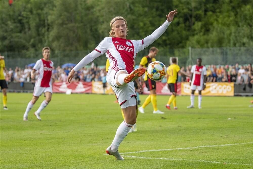 """Nice en Ajax akkoord over transfersom Kasper Dolberg""; image source: Pro Shots"