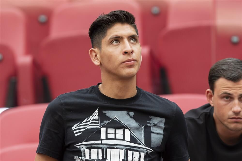 """""""Edson Álvarez hoopt binnen enkele dagen met werkvergunning bij Ajax terug te keren""""; image source: Pro Shots"""