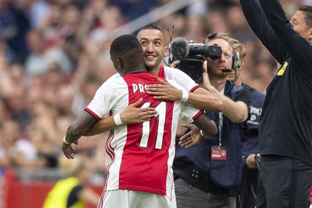 """Hakim Ziyech: """"Het moet wel een club zijn waar ik Ajax voor wil inruilen""""; image source: Pro Shots"""