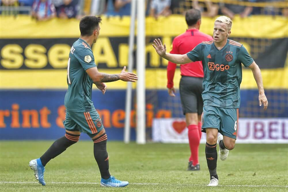 """""""Transfer Donny van de Beek naar Real Madrid afgerond""""; image source: Pro Shots"""