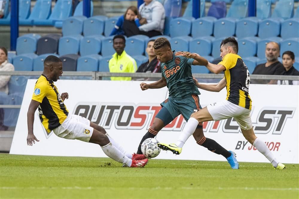 """""""Napoli meldt zich bij Ajax voor David Neres""""; image source: Pro Shots"""