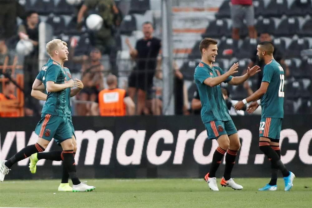 Ajax bezorgt zichzelf goede uitgangspositie na gelijkspel in Griekenland; image source: Pro Shots