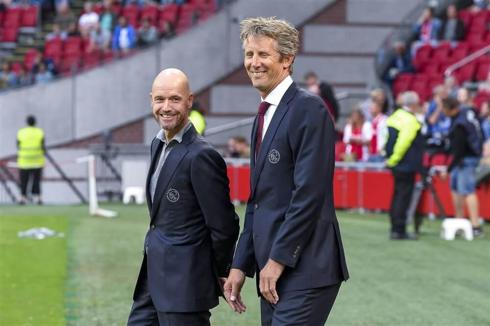 """Edwin van der Sar: """"Ook in het contract van Erik ten Hag staan clausules""""; image source: Pro Shots"""