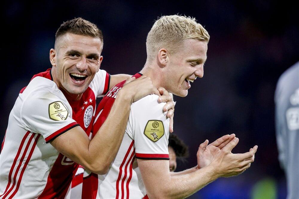 """""""Donny van de Beek inzetbaar tegen PSV, basisplaats echter onwaarschijnlijk""""; image source: Pro Shots"""