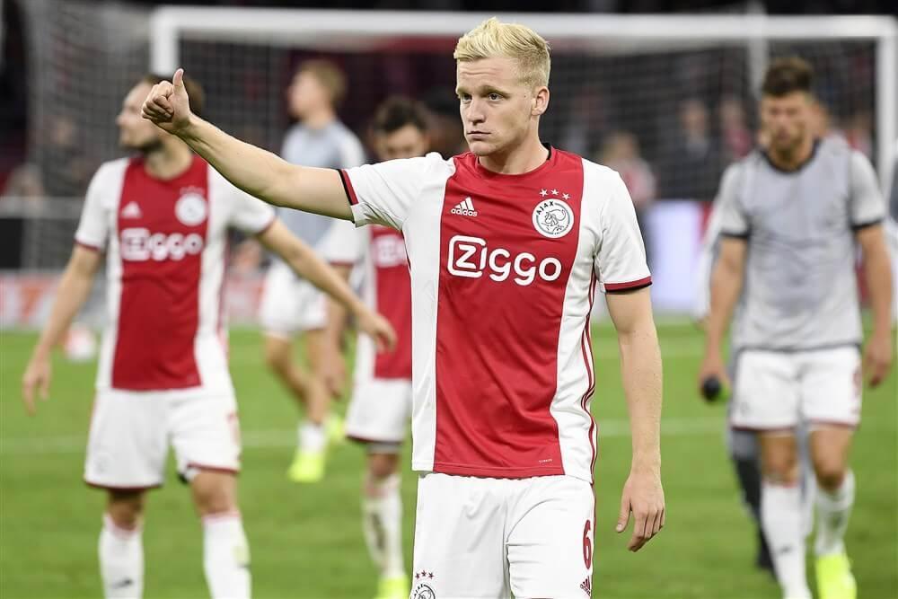 """Donny van de Beek: """"Er is zeker een goede kans dat ik hier blijf spelen""""; image source: Pro Shots"""