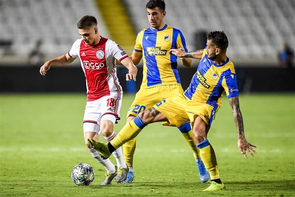 Ajax gelijk in Cyprus na zeer slordige wedstrijd; image source: Pro Shots
