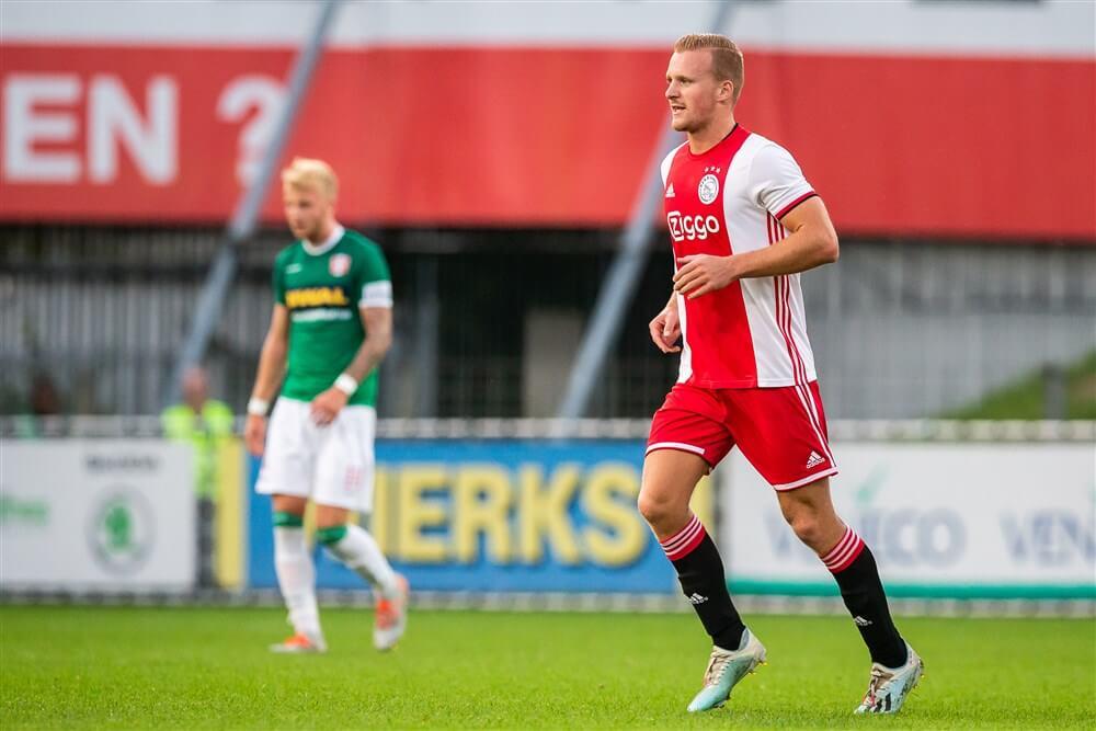 """Dani de Wit: """"De eerste tien wedstrijden was het leuk om bij Ajax 1 op de bank te zitten""""; image source: Pro Shots"""