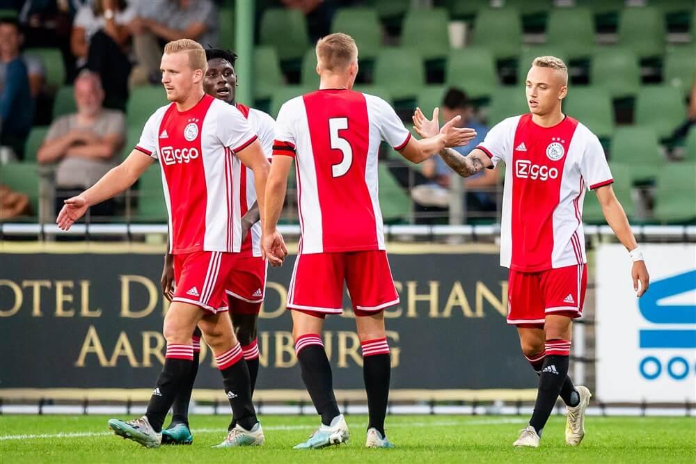 Jong Ajax haalt uit op bezoek bij FC Dordrecht; image source: Pro Shots