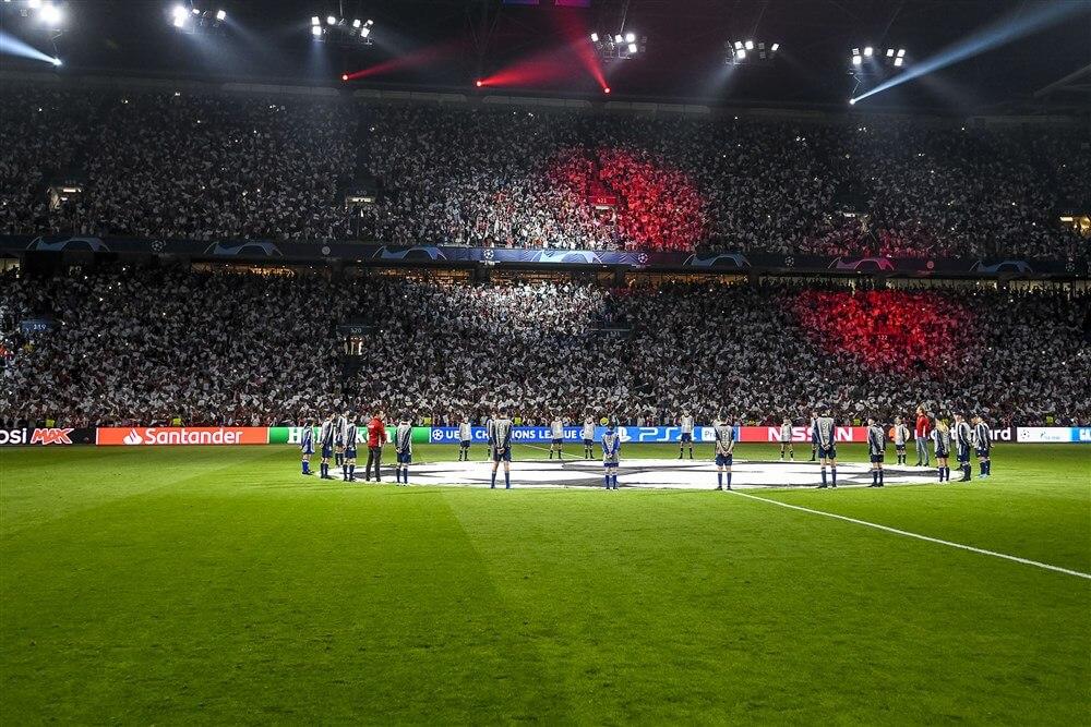 Ajax begint groepsfase met thuiswedstrijd tegen Lille, eindigt thuis tegen Valencia; image source: Pro Shots