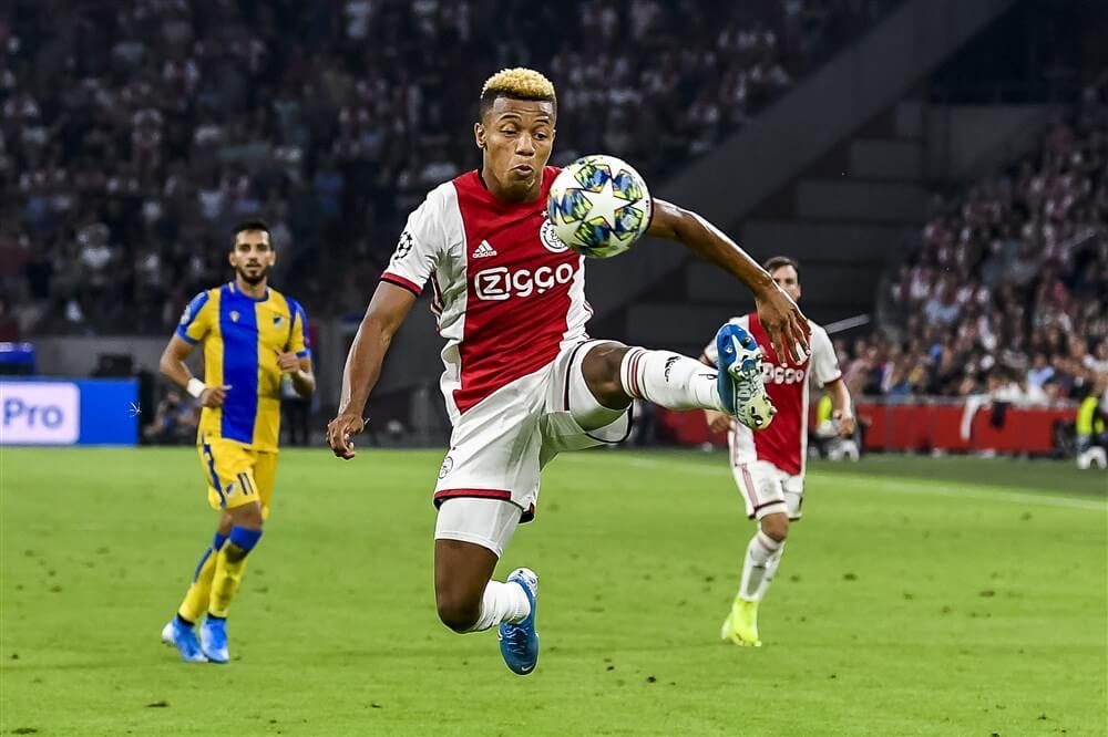 """David Neres: """"Ik ben blij dat ik bij Ajax ben gebleven""""; image source: Pro Shots"""