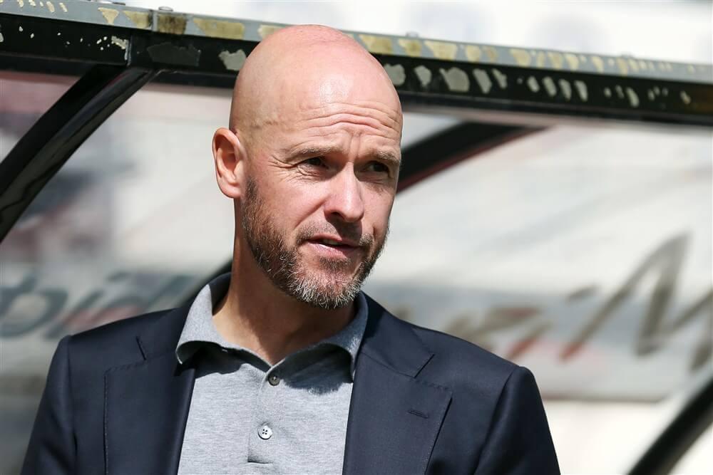 """Erik ten Hag niet naar voetbalgala Telegraaf: """"Ik ga niet gezellig doen met mensen die suggestief zijn""""; image source: Pro Shots"""