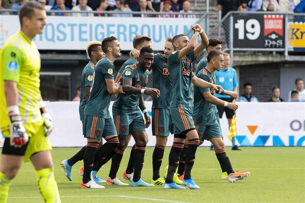 Ruime overwinning voor Ajax op bezoek bij Sparta; image source: Pro Shots