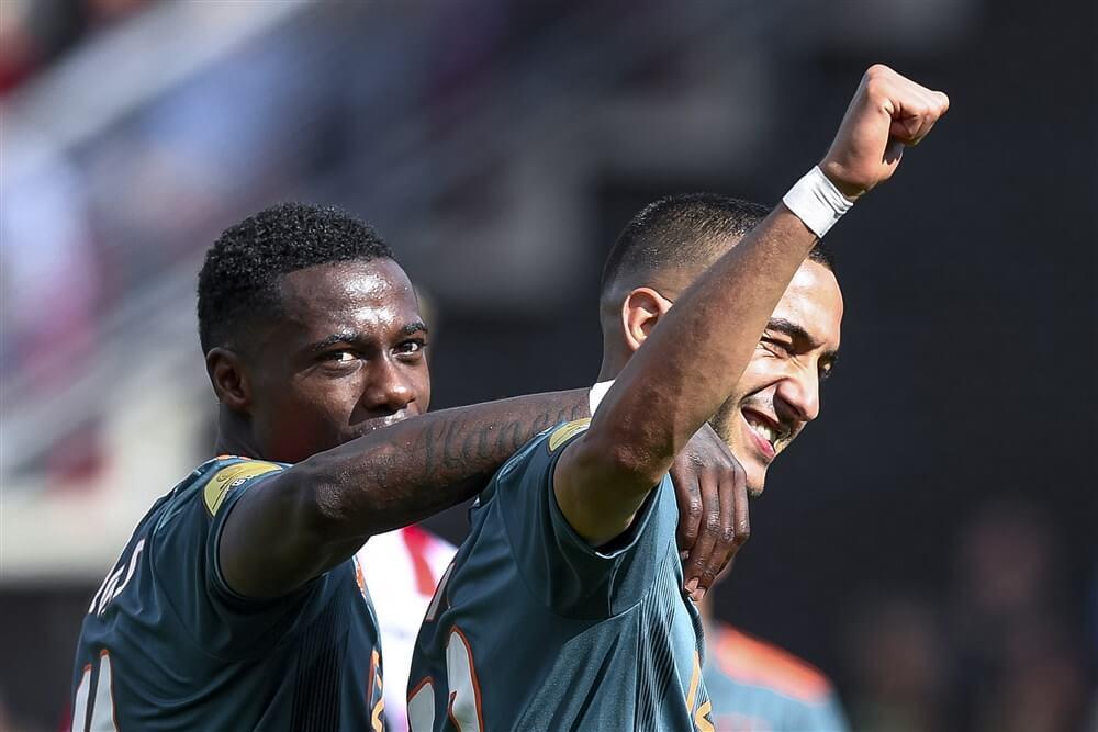 Hakim Ziyech Speler van de Maand in Eredivisie; image source: Pro Shots