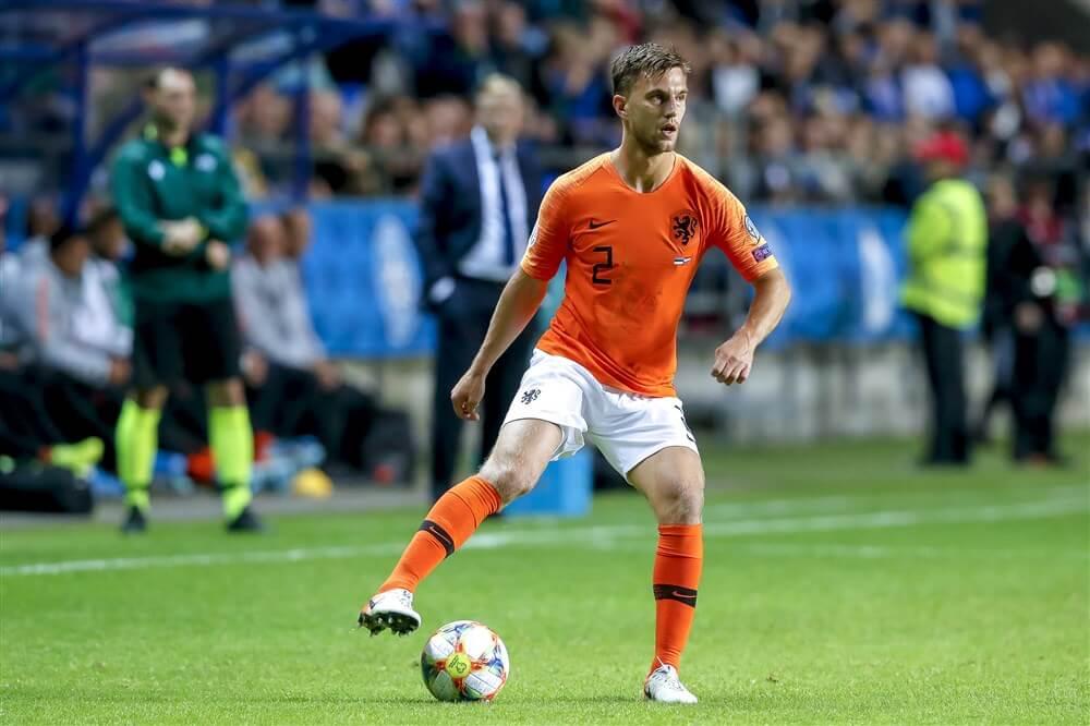 Joël Veltman en Daley Blind winnen met Oranje van Estland; image source: Pro Shots