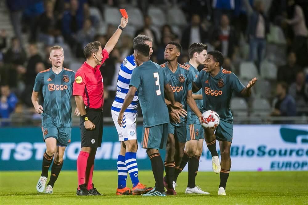 Jong Ajax verspeelt zege in Doetinchem na vroege rode kaart in tweede helft; image source: Pro Shots