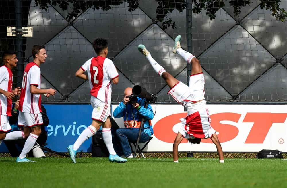 Ajax onder 19 in UEFA Youth League tegen Atlético Madrid; image source: Pro Shots