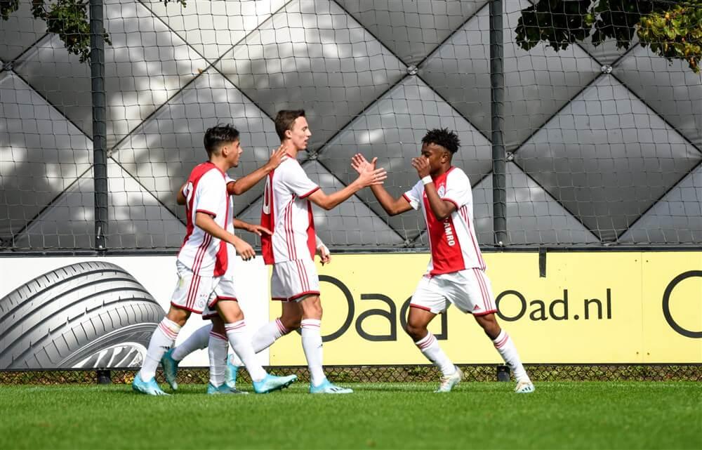 Ajax onder 19 begint met ruime zege aan UEFA Youth League; image source: Pro Shots