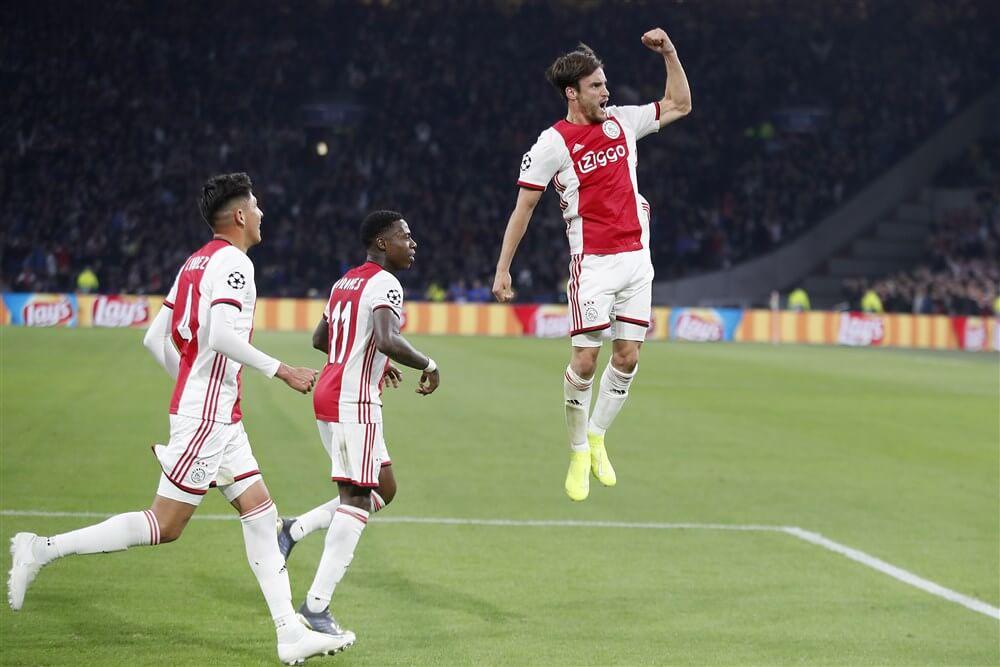 Ajax opent groepsfase met ruime zege tegen Lille dankzij fraaie treffers; image source: Pro Shots