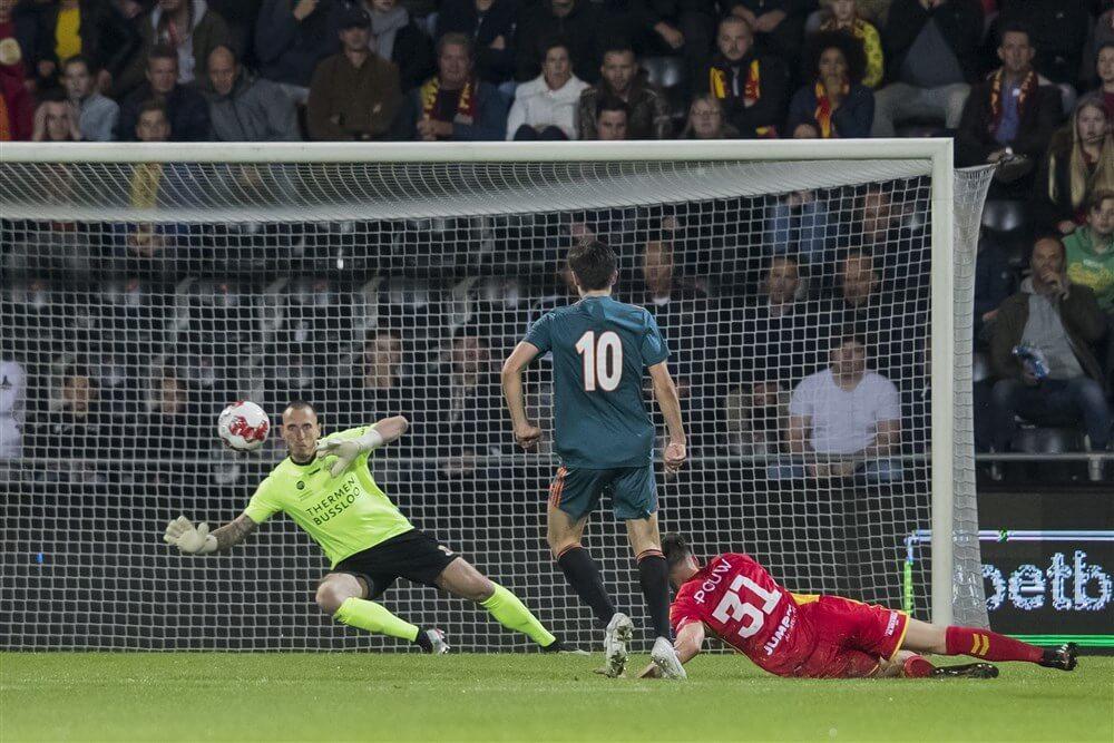 Jong Ajax gelijk in uitwedstrijd tegen Go Ahead; image source: Pro Shots