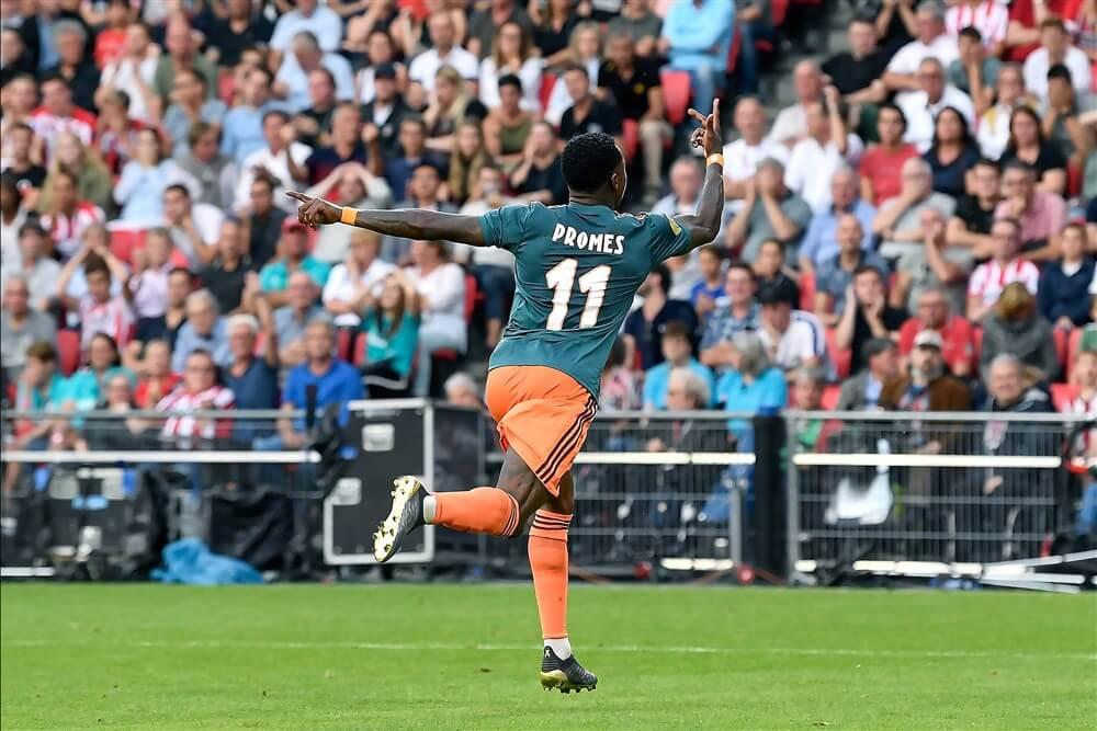Beter Ajax toont zich toch licht tevreden met gelijkspel in Eindhoven: 1-1 ; image source: Pro Shots