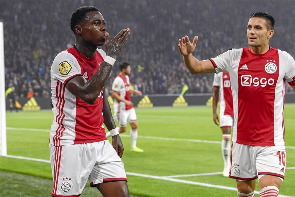 Ajax neemt na bedroevende eerste helft alsnog ruim afstand van Fortuna: 5-0; image source: Pro Shots