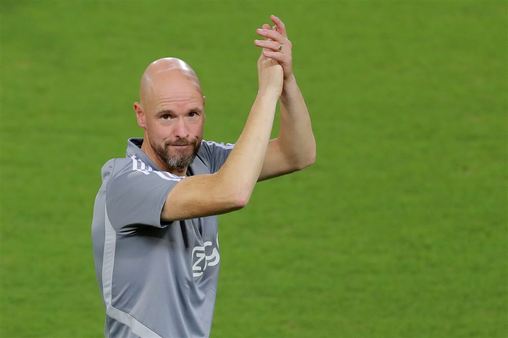 Erik ten Hag evenaart seizoensstart Louis van Gaal; image source: Pro Shots