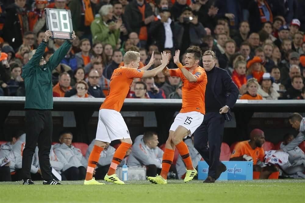 """Donny van de Beek: """"Ik snap wel dat de bondscoach hier voor kiest""""; image source: Pro Shots"""